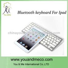 el más reciente de la batería de litio universal bluetooth inalámbrico de teclado para el teclado ipad