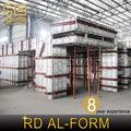 Reducir los costes laborales se completa todo el edificio a un ritmo rápido con materiales de encofrado