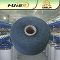 venta al por mayor reciclado de hilados de algodón calcetines teñidos
