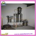 hierba pequeña destilador aceite esencial