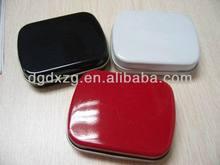 llanura cuadrados caja de cosméticos