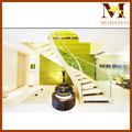curvo escalera modelos de interior de madera