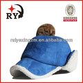 Bobble de invierno y sombrero tapa 100% lana de venta al por mayor