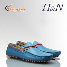 2014 nuevos hombres del estilo de los zapatos de cuero