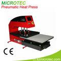 Transfert thermique t- shirt machine de presse, petite machine de presse pneumatique
