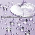 Decoraciones del partido de bodas de diamante tabla confeti