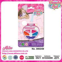 fascinante niños colorido de supermercado de plástico de juguete cosmetis conjuntos conjunto de juguete para la niña y los niños
