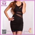 Vestido Negro de mini vestido atractivo de la alta calidad Mujeres PP2149 Moda