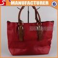 moda bolsos de mano de color rojo