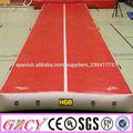 volteretas gimnasia pista de aire inflable