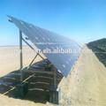 Pvsolver sol portable système d'énergie solaire photovoltaïque de galvanisation à chaud au sol solaire pv structure de montage