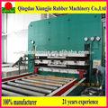 Tapis de caoutchouc recyclé presses, tapis de sol en caoutchouc recyclé machines, tapis de caoutchouc presse à chaud