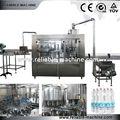 botella de agua mineral línea de llenado para agua potable
