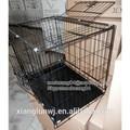 De metal plegable para mascotas en el hogar, casetas de perro para el supermercado