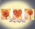 diamante de bricolaje pintura de la pintura del árbol