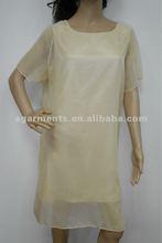 las señoras de seda de gasa falda de grasa las mujeres vestidos deimágenes