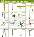 todos los tipos de herramientas de la granja de cerca eléctrica de bajo coste dispensador de alambre para el alambre de la cerca