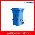 lixo plástico de injeção de alta qualidade pode moldar, molde do escaninho de lixo