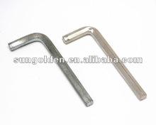 de cabeza hueca hexagonal llave llave de herramientas en