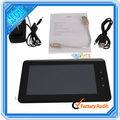 Concha blanca 7- pulgadas a10 tablet pc de la computadora