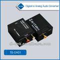 nuevos productos para coaxial 2014 toslink de digital a analógico convertidor de audio