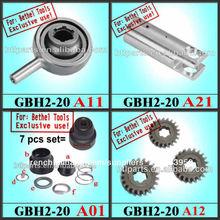 Pièces de rechange pour les outils électriques bosch gbh 2-20 se marteau rotatif, fournisseur direct!!!