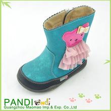 2014 botas de goma de los niños botas para la nieve y chica de moda las botas
