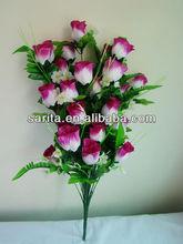cabezas 36 flash capullo de rosa bolas de flores para bodas