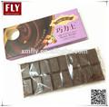 leche 100g compuesto de sabor chocolate barras de chocolate oscuro
