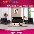 Muebles modernos, sofá de cuero genuino, sofá de, muebles para el hogar a683