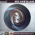 tiges de métal / tuyau en acier inoxydable et HSS de coupe de tuyau lame de scie