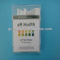 pH de la orina tira de prueba