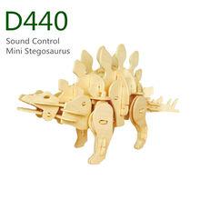 Cadeau de noël- r/c dinosaures jouets- sound control mini. stegosaurus