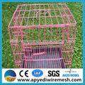 China iso9100 gaiola animal, telas soldadas para gaiolas, criação de coelhos