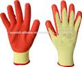 látex recubierto guante de palma/Guantes de protección de algodón con revestimie