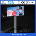 la pantalla LED de publicidad