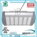 calidad superior de led de alta bahía de la luz de la vivienda con bridgelux mw y componentes electrónicos