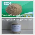 carbonato ferroso del ensayo