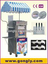el mercado europeo popular crema de hielo de la máquina
