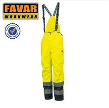 haute visibilité pantalon de travail Salopette de travail pour les hommes