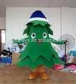 el árbol de navidad traje de la mascota caminar actuar de vestuario para la venta