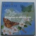 las aves y los animales de flores de estilo abstracto de dibujo de la imagen de la pintura de laca