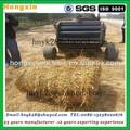 tractor impulsado paja de arroz de la máquina de balas