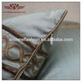 El hotel almohada, a rayas bordado cojines, almohada para el hogar