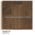 Anti-risco UV lacado nogueira americana piso de madeira