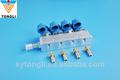 gnc/glp inyector de ferrocarril de 4 cilindros de inyección secuencial del sistema