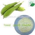 Gmp 100% natural liofilizado en polvo luffa/liofilizado de calabaza esponja/liofilizado en polvo de esponja vegetal
