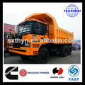 shacman 50 toneladas de la mina de descarga de camiones para la venta