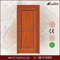 Precio de venta diseño sencillo tallado puerta de madera maciza