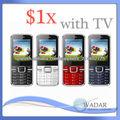 Wholesale TV Triple SIM cheapest I9500 Mobile Phone